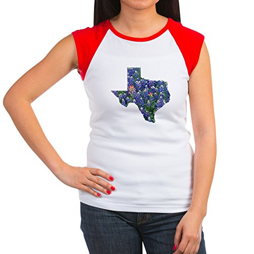 Texas Womens Cap Sleeve T-shirt - 6