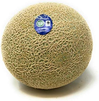 Melon Cantaloupe Whole Trade Guarantee Organic, 1 Each