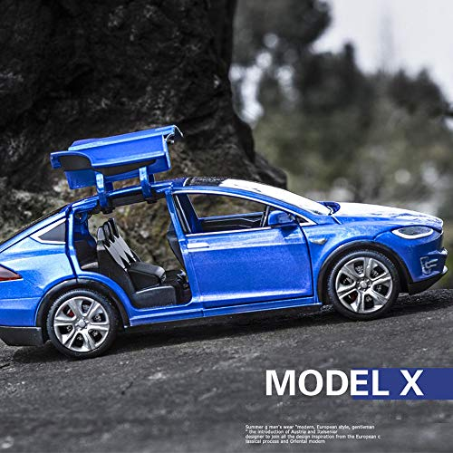 ZIETNAL Diecasts & Toy Vehicles - All New Tesla Model X S Alloy Car ModelX Diecasts Toy Vehicles Toy Cars Kid Toys for ldren Gifts Boy 1 PCs