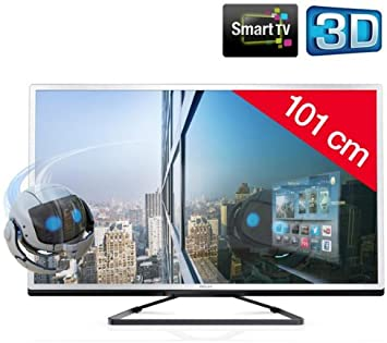 PHILIPS 40PFL4508H/12 - Televisor LED 3D Smart TV: Amazon.es: Electrónica