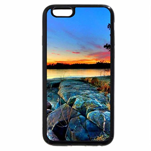 iPhone 6S / iPhone 6 Case (Black) landscape-nature