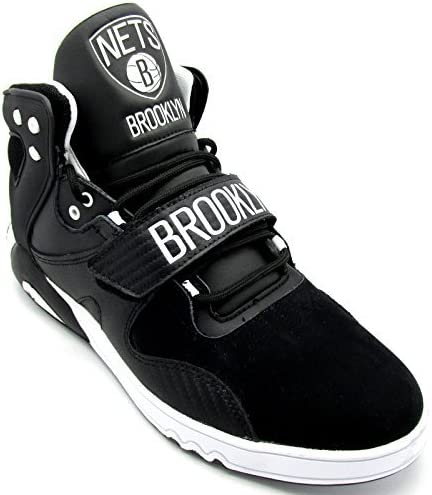 adidas Baskets Noires Roundhouse Mid Brooklyn pour Homme M22340