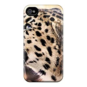 ButterflyValley Fashion Protective Leopard Case Cover For Iphone 4/4s