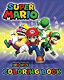 Super Mario Coloring Book for Kids: Activity Book for Boys, Girls Ages 2-4, 4-8
