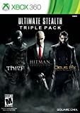 xbox 360 triple pack - Ultimate Stealth Triple Pack (Thief, Hitman: Absolution, Deus Ex: Human Revolution)- Xbox 360