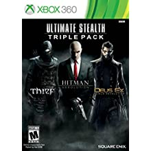Ultimate Stealth Triple Pack (Thief, Hitman: Absolution, Deus Ex: Human Revolution)- Xbox 360