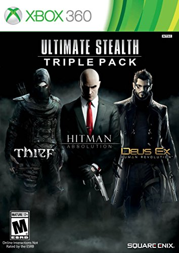 Pack Hits (Ultimate Stealth Triple Pack (Thief, Hitman: Absolution, Deus Ex: Human Revolution)- Xbox 360)