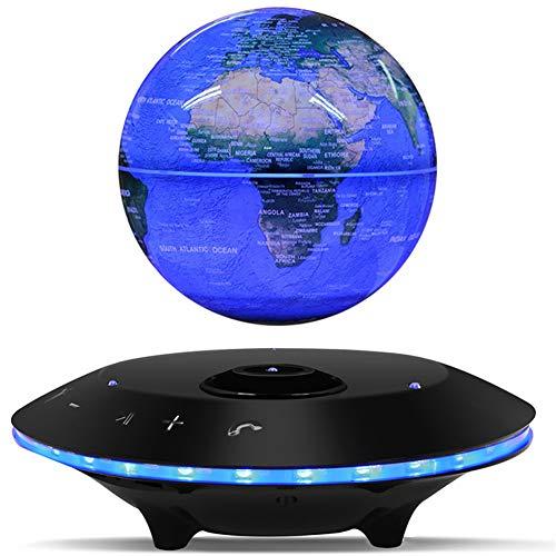 NSST Altavoces Maglev Globo inalámbrico Bluetooth Altavoces Globo de 360 ° Lámpara de la Noche Luz de la Noche Sonido...