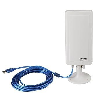 Amplificador de Senal - SODIAL(R)PC USB WiFi Amplificador de antena y extensor