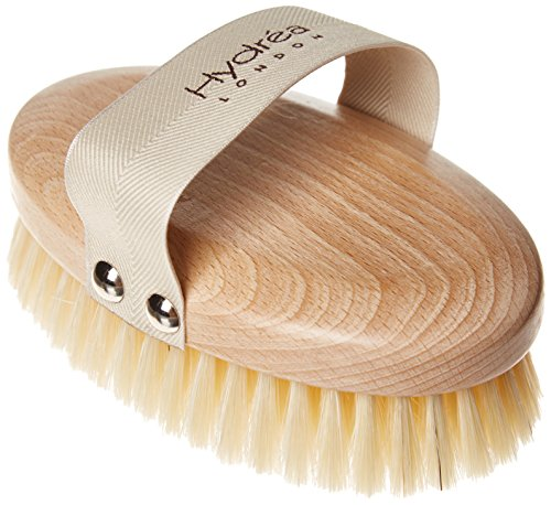 Hydrea Professional Body Brush with Natural Bristles (Medium Strength) by Hydrea London