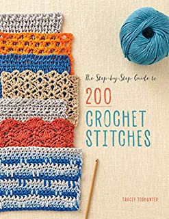 Book Cover: The Step-by-Step Guide to 200 Crochet Stitches