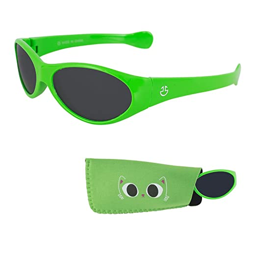 e0744c6e3b Sunglasses for Babies–For Infants and Toddlers-1 Month to 3 Years-Matching  Pouch