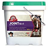 Formula 707 Joint 6in1 Equine Supplement, 10lb Bucket – Green-Lipped Mussel, MSM, Glucosamine, Chondroitin, Collagen, & Bromelain for Horses