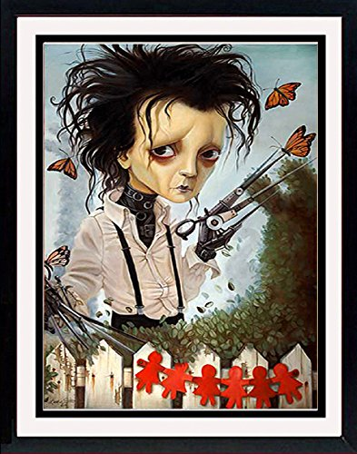 Edward Scissorhands Poster Art By Leslie Ditto