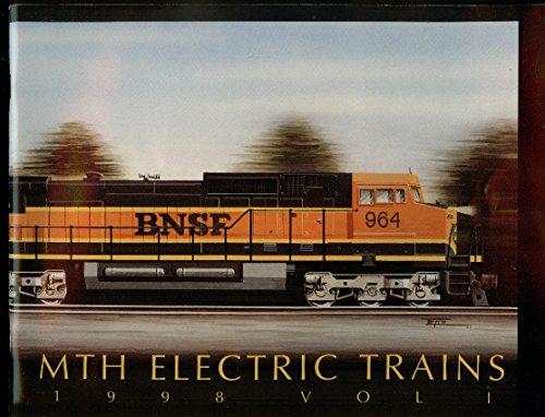 MTH Electric Trains catalog 1998 V1 RailKing Tinplate Premier