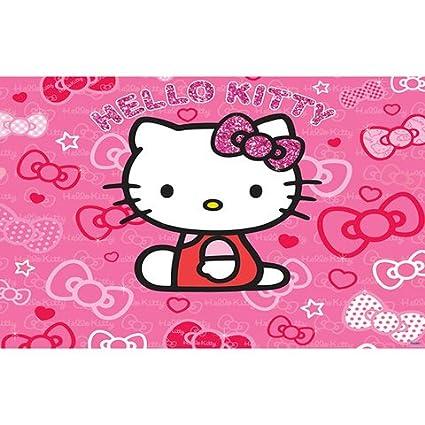 Walltastic Hello Kitty Mural Wallpaper 8 X 10 Ft