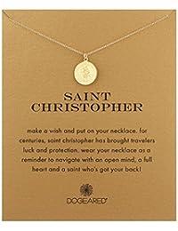 "Dogeared Saint Christopher Necklace Saint Christopher, 18"""