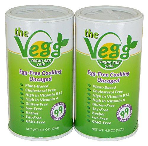 The Vegg Vegan Egg Yolk 4.5 Oz Pack of 2