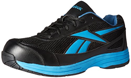 Reebok Work Mens Ketee Rb1620 Industrial and Construction Shoe BlackBlue  11 M US 14 DM USBlackBlue