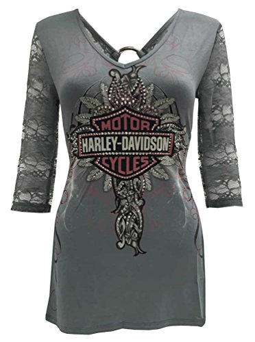 Harley Davidson T Shirts Women'S - 3