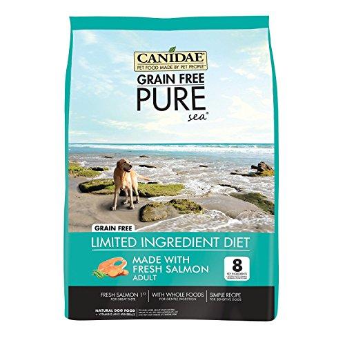 CANIDAE 24 LBS, Made with Fresh Salmon Dry Dog Food ()