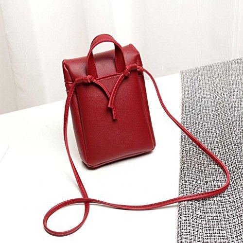 Portable Jiangfu Dos Sac Messager Bag Couleur Épaule Femme monnaie Messenger Petit Cabas Mode Femmes À Une Main De Vin Candy Porte 66Hpqr4w