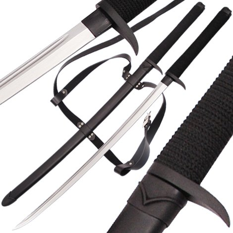 Death Fang Dark Ninja Handmade Two Handed Full Tang Katana by General Edge