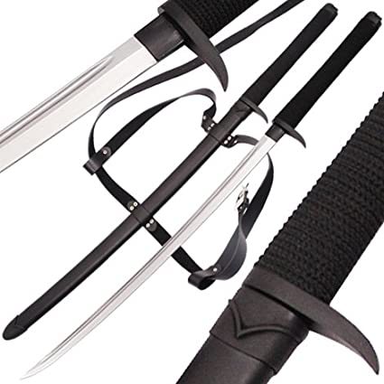 Death Fang Dark Ninja Handmade Two Handed Full Tang Katana