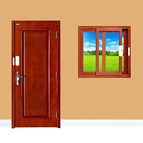 CallToU Wireless Door Open Chime Sensor Entrance Chime Entry Alert Alarm For Home Retail Store Business shop Apartment Office 1 Magnet Door/Window sensor 1 Receiver by CallToU (Image #1)
