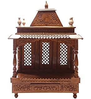 Shilpi Handcrafted Wooden Home Temple Part 82
