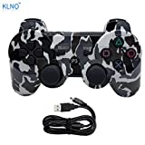 PS3 Controller Wireless Dualshock Joystick - KLNO PS38 (2017 New) Bluetooth Gmaepad Sixaxis, Super power, USB Charger, Sixaxis, Dualshock3 including 1 cable For Playstation 3