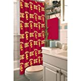 The Northwest Company USC Southern California Trojans NCAA Fabric Shower Curtain (72x72)