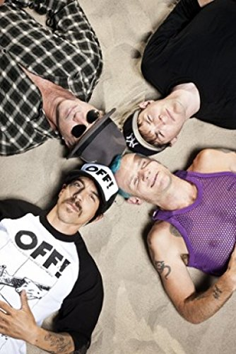 Red Hot Chili Peppers 24X36 New Printed Poster Rare #TNW467458 ()