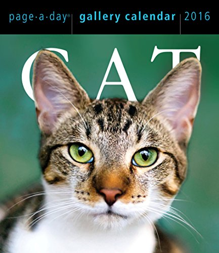 Cat Page-A-Day Gallery Calendar 2016](Cats Page A Day Calendar 2015)