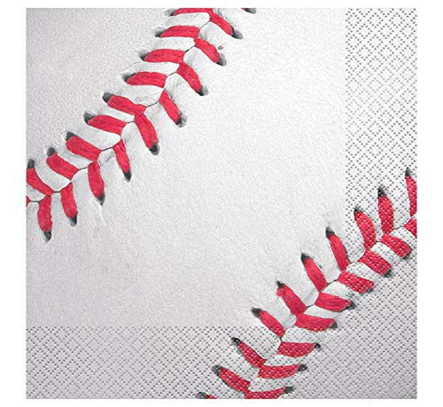 Baseball Party Napkins, 16ct -
