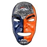 Franklin Sports Denver Broncos NFL Fan Face Mask