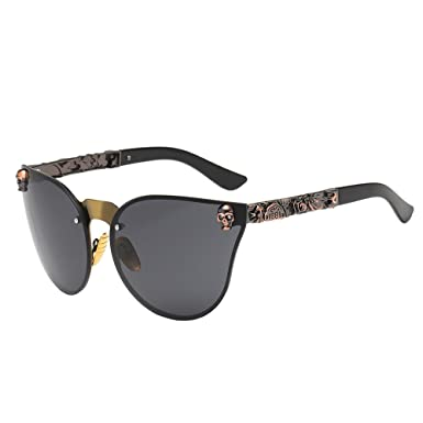 D G Sonnenbrille  Damen Retrobrille Polarisiert Vintage Brille Pilotenbrille