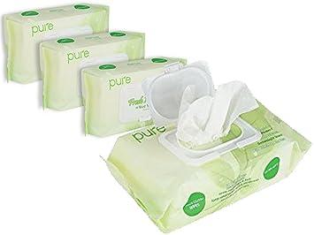 Unscented Wet Wipes Natural For Women Men Baby 320 Sensitive
