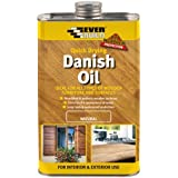 Everbuild DANISH05 Danish Oil, Natural, 500 ml