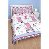 Character world Peppa Pig Tweet Double Rotary Duvet Set by Character World