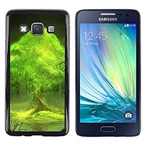 Exotic-Star ( Trees world ) Fundas Cover Cubre Hard Case Cover para Samsung Galaxy A3 / SM-A300