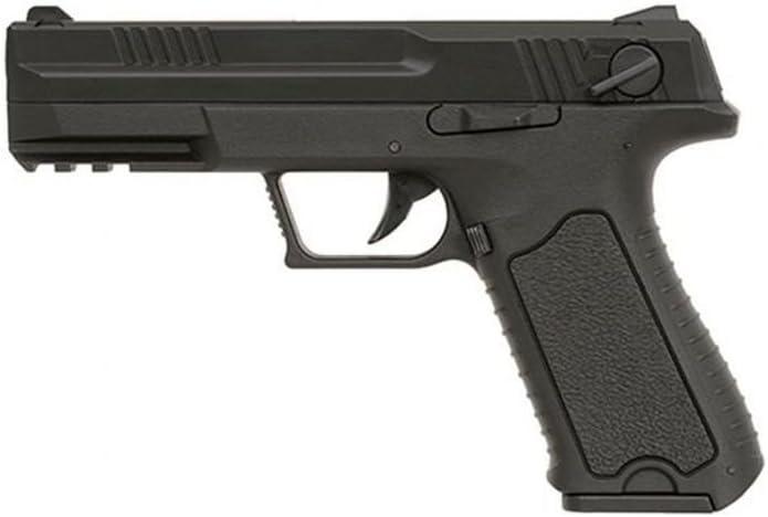 Cyma Pistola G18 Custom para Airsoft, AEP Semi/Rafale CM127 (0,5 Julios), color negro