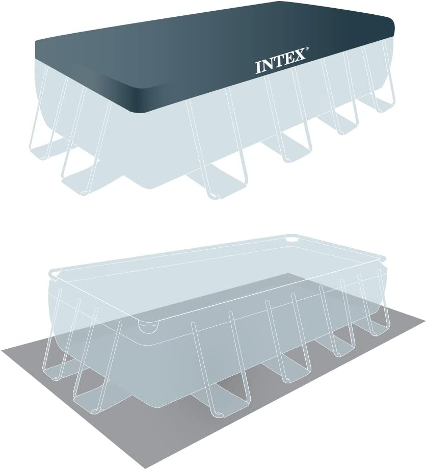 Intex 26778NP - Piscina desmontable Prisma Frame 488 x 244 x 107 ...
