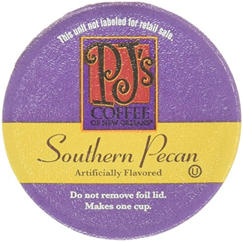 PJ's Coffee of New Orleans Southern Pecan Single Serve Cups, 12 Counts, Pack of 3