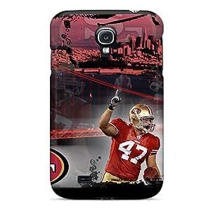 Hot Design Premium WLz1470ubuQ Tpu Case Cover Galaxy S4 Protection Case(san Francisco 49ers)