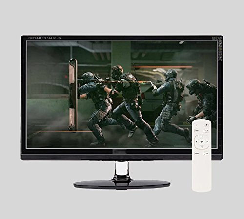 QX View QX2414 LED 144 Multi HOT FHD (1920x1080) Gaming Monitor Native 144Hz, 1ms (GTG), Eye Free, Hot Key, LOS, Remote included
