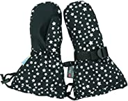 Jan & Jul Waterproof Stay-on Winter Snow and Ski Mittens Fleece-Lined for Baby Toddler Kids Girls and Boys