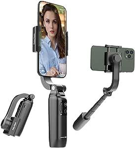 FeiyuTech Vimble One Foldable Single-Axis Smartphone Gimbal,Professional Anti Shaking Stretchable Handheld Gimbal Horizontal Locking & Follow-up
