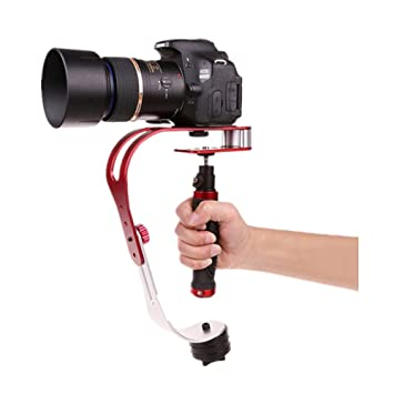 Amazon.com : Pinty Handheld Video Camera Stabilizer for GoPro (Red ...