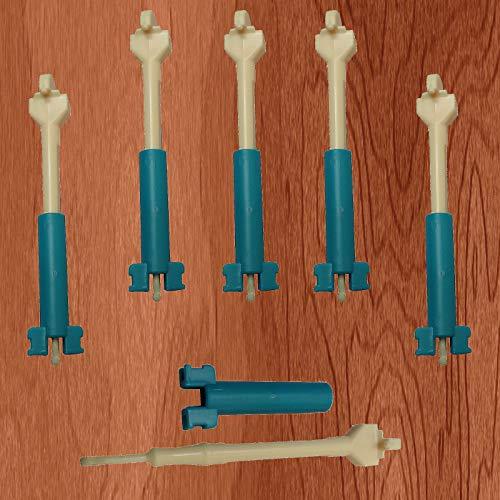 Energi8_blu New Lot of 5 Loom Replacement Hook Tool + Mini Loom for Rainbow & DIY Loom Kit by Energi8_blu